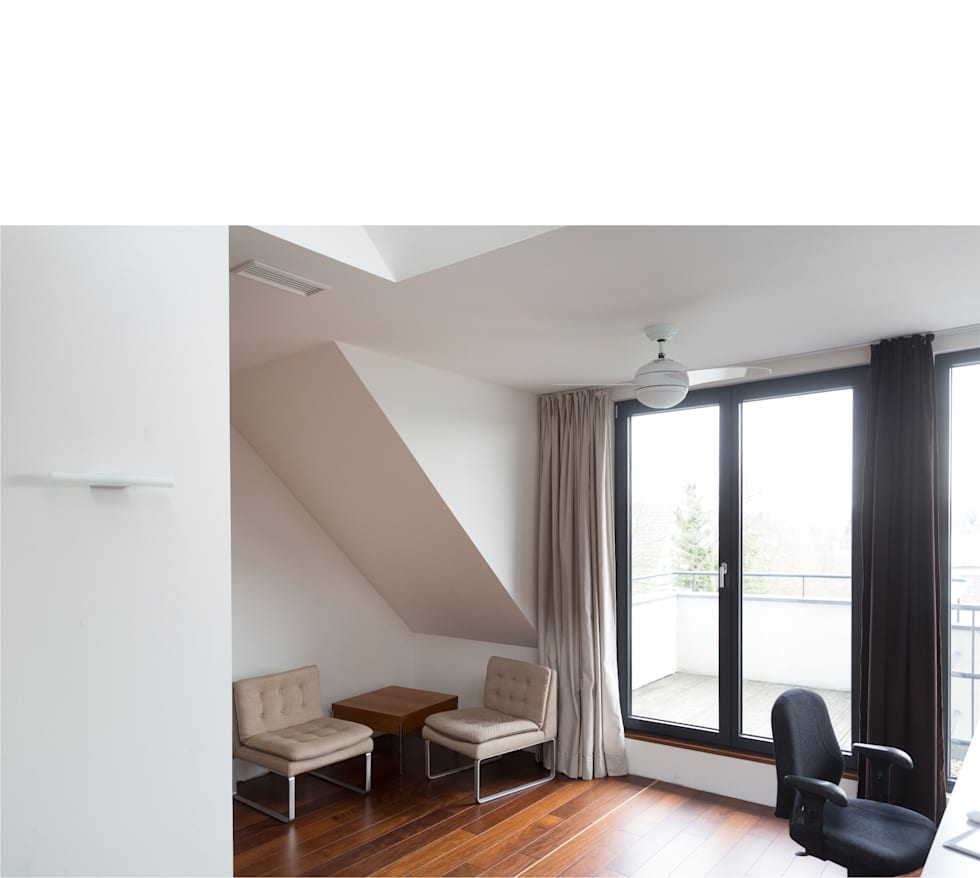 moderne Studeerkamer/kantoor door beissel schmidt architekten