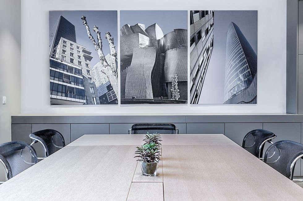 Fotos de decoraci n y dise o de interiores homify - Oficinas en bilbao ...