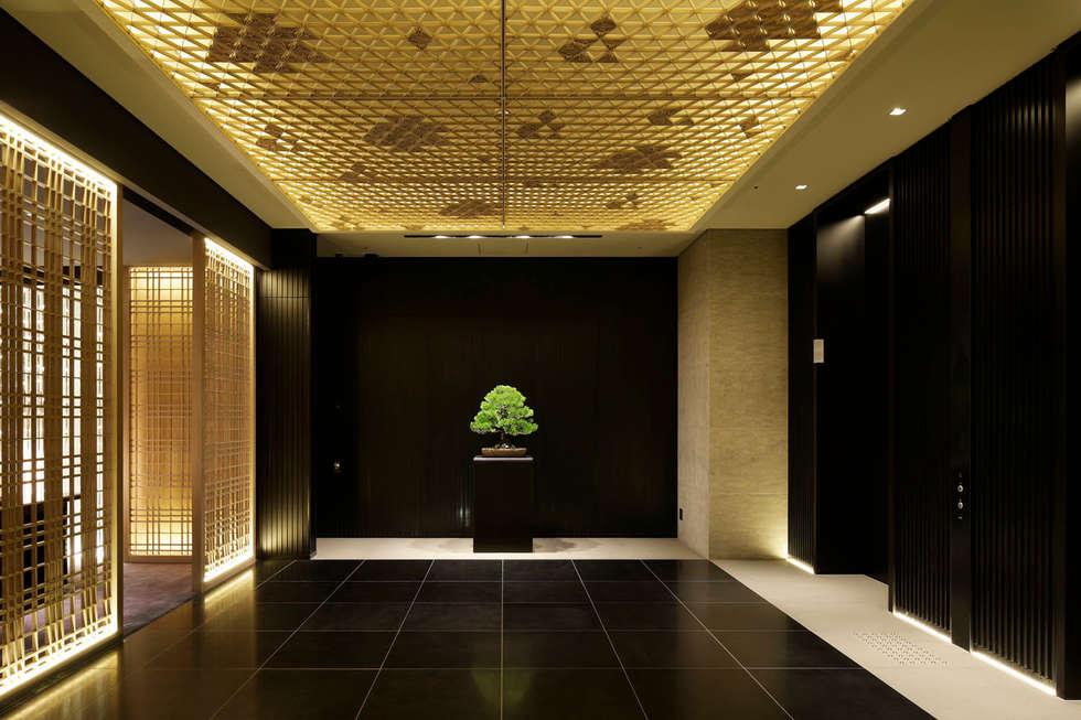 Corridor: WORKTECHT CORPORATIONが手掛けたホテルです。