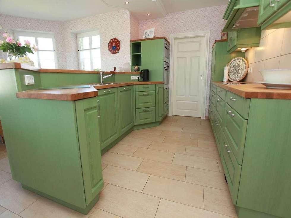 Grüne Küchen wohnideen interior design einrichtungsideen bilder homify