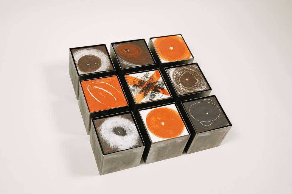 [INSIDE - OUTSIDE] series   -   object I: moderne Eetkamer door Marc Verbruggen - ceramic art
