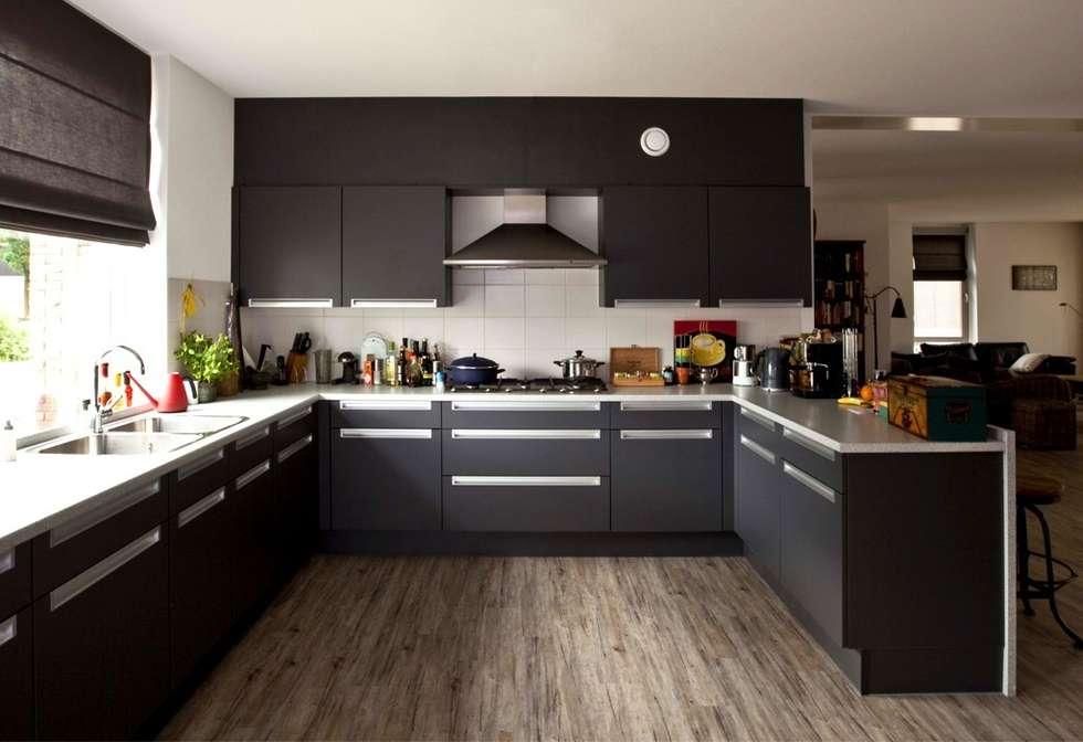 Projekty,  Kuchnia zaprojektowane przez Archivice Architektenburo
