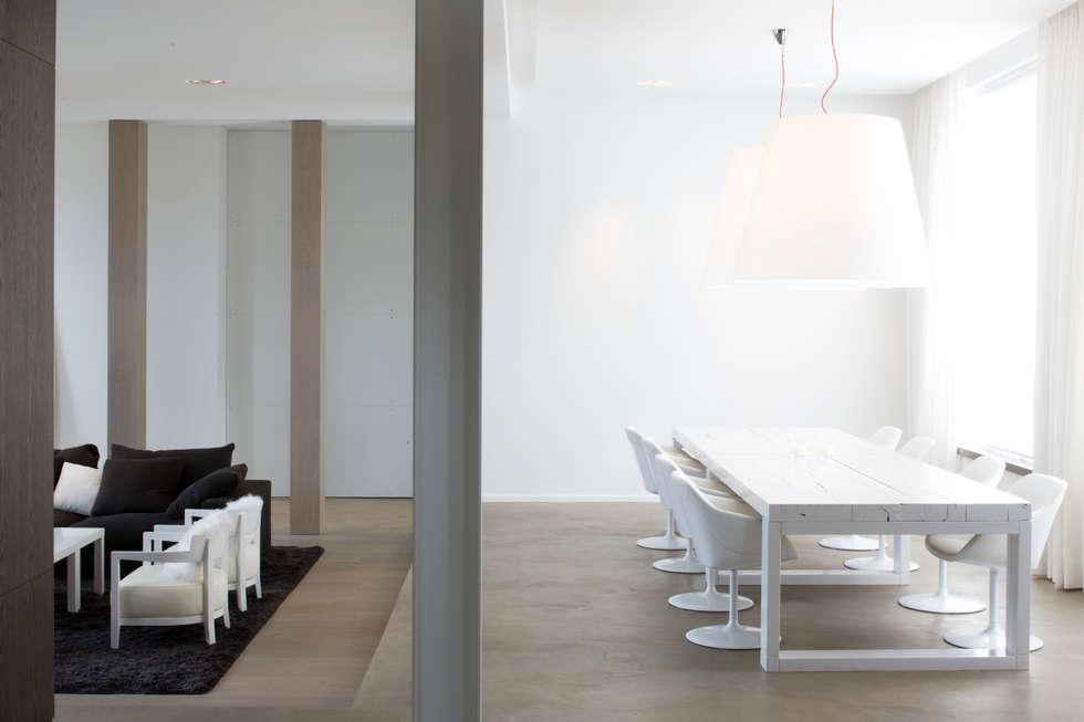 Séjour: Salle à manger de style de style Minimaliste par GUILLAUME DA SILVA ARCHITECTURE INTERIEURE
