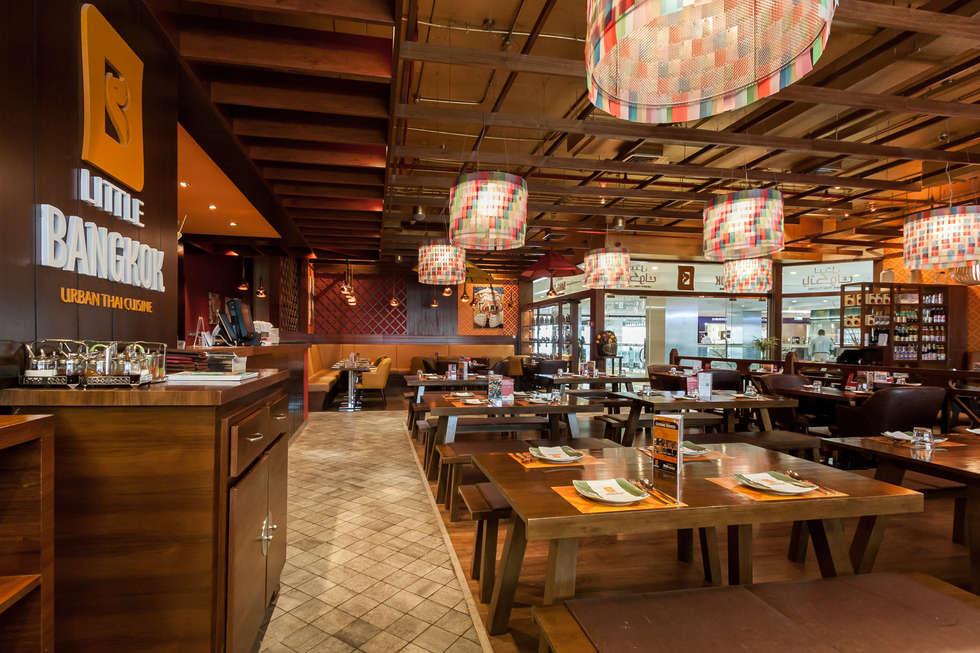 Little Bangkok, Urban Thai Cuisine, Dubaï: Restaurants de style  par Dominique Herbillon & Edouard Augustin