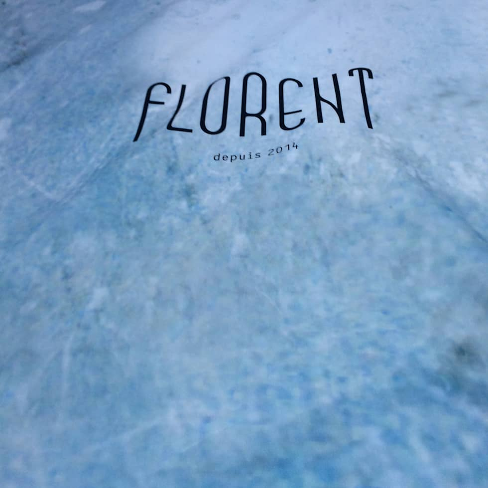restaurant Florent ,fabric panels, Utrecht:  Gastronomie door Workingbert