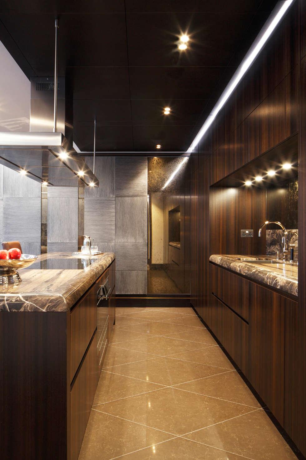 modern Kitchen by Alguacil & Perkoff Ltd.