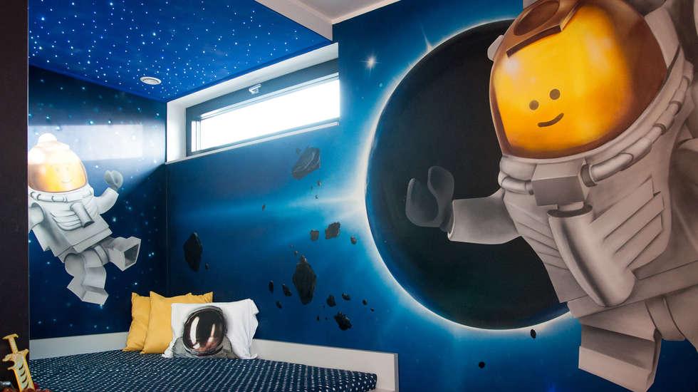 www.ewaweber.art.pl: styl , w kategorii Pokój dziecięcy zaprojektowany przez Ewa Weber - Pracownia Projektowa