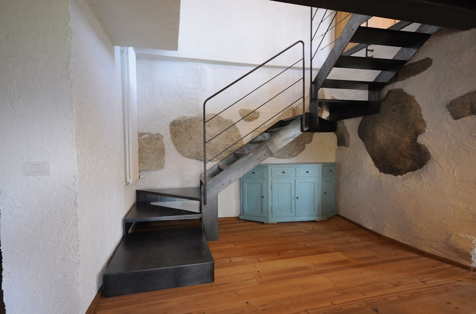 scala : Ingresso & Corridoio in stile  di supercake