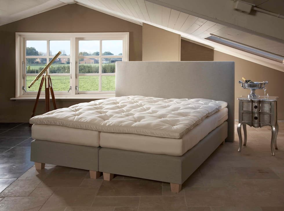Slaapkamer Met Boxspring : Luxe bungalow ameland watersnip slaapkamer met boxspring bedden
