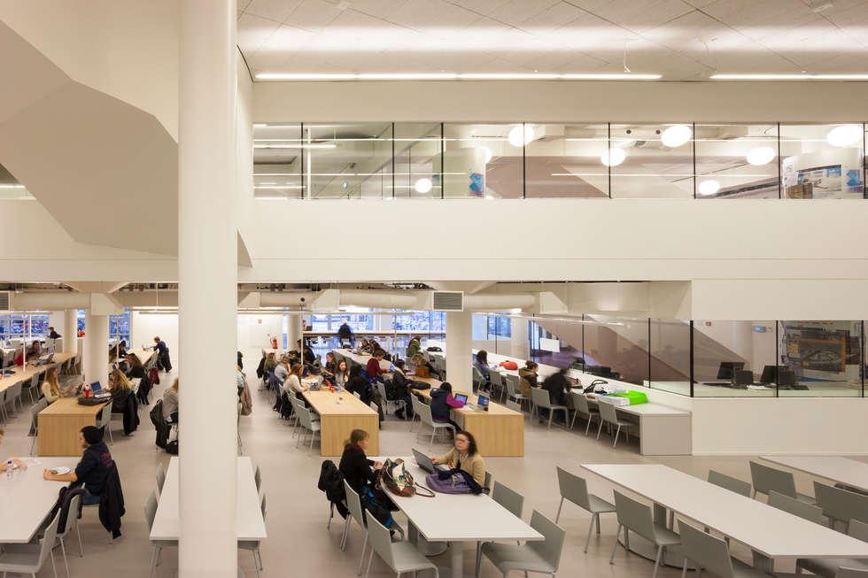 Studiegebied én restaurant:  Scholen door PUUR interieurarchitecten