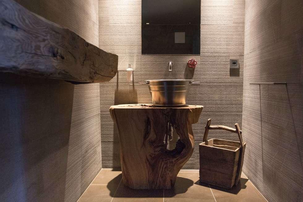 Bagno SPA: Bagno in stile in stile Moderno di DF Design