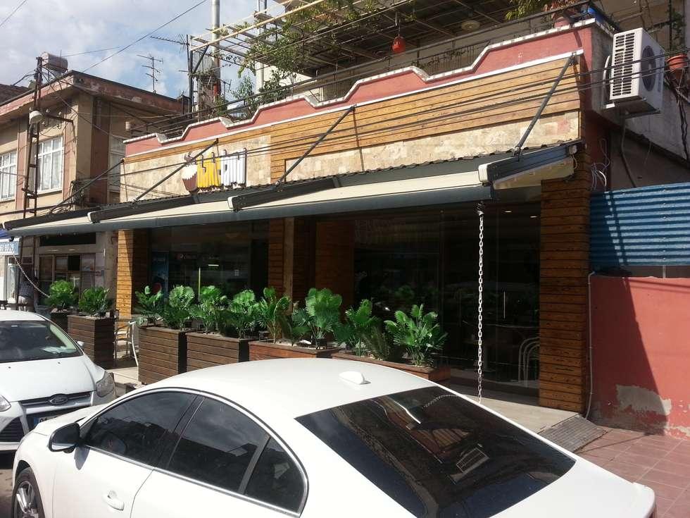 Emre Urasoğlu İç Mimarlık Tasarım Ltd.Şti. – Bakeland Pattisserie - Adana: modern tarz Evler