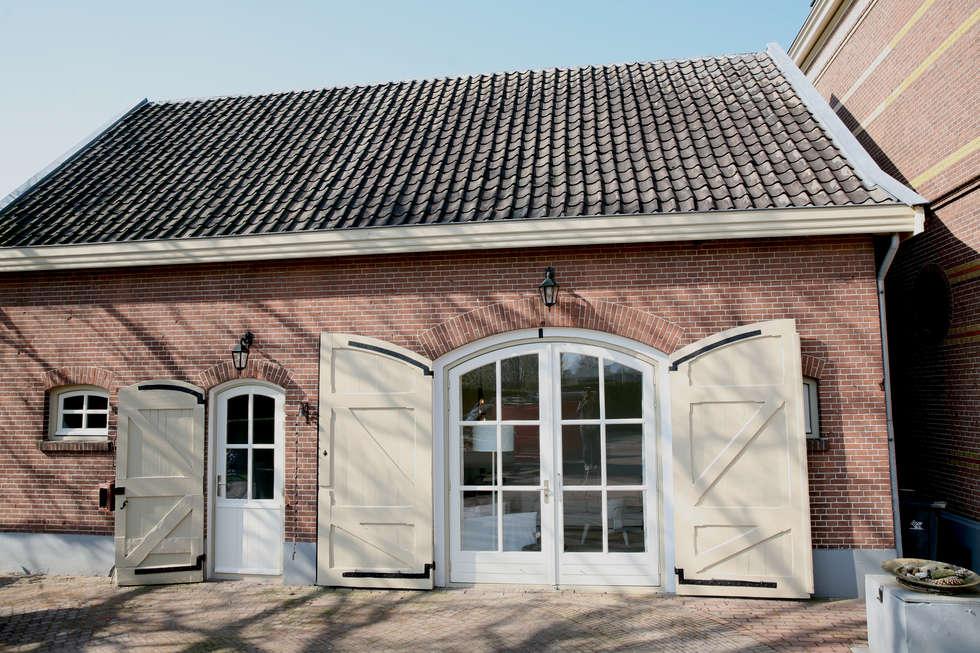 Koetshuis Kesteren: landelijke Huizen door Antequercus