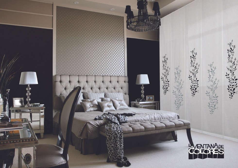 Dormitorios de estilo clásico por LA VENTANA DE COLORES
