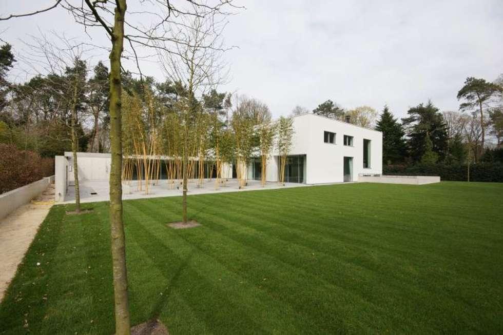 Guesthouse met spa en welness: minimalistische huizen door
