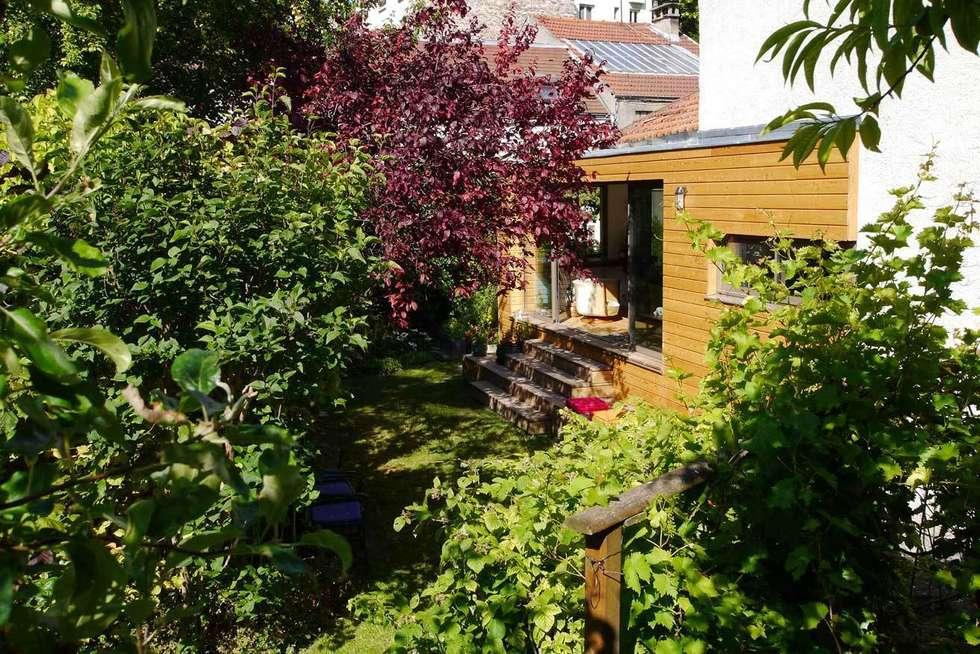 Le jardin: Jardin de style de style eclectique par MELANIE LALLEMAND ARCHITECTURES