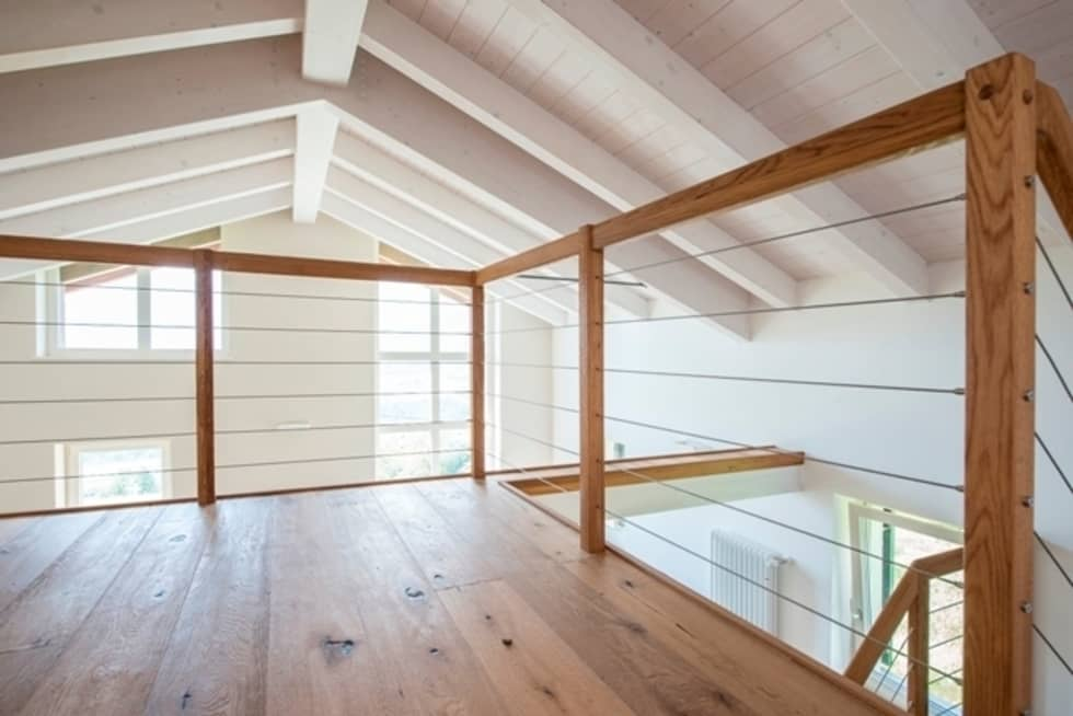 Soppalco Camera Da Letto Moderno : Interno soppalco camera da letto in stile in stile moderno di