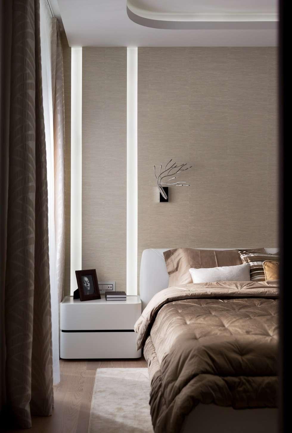 Domio river side. kiev ucraina: camera da letto in stile in stile ...