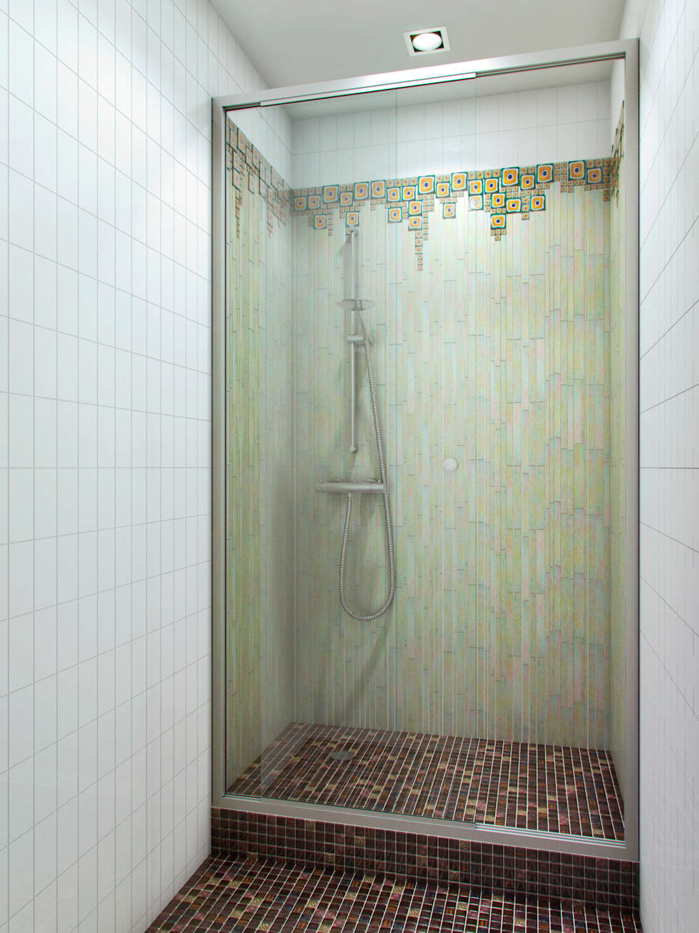 На черноморском берегу: Ванные комнаты в . Автор – Хандсвел
