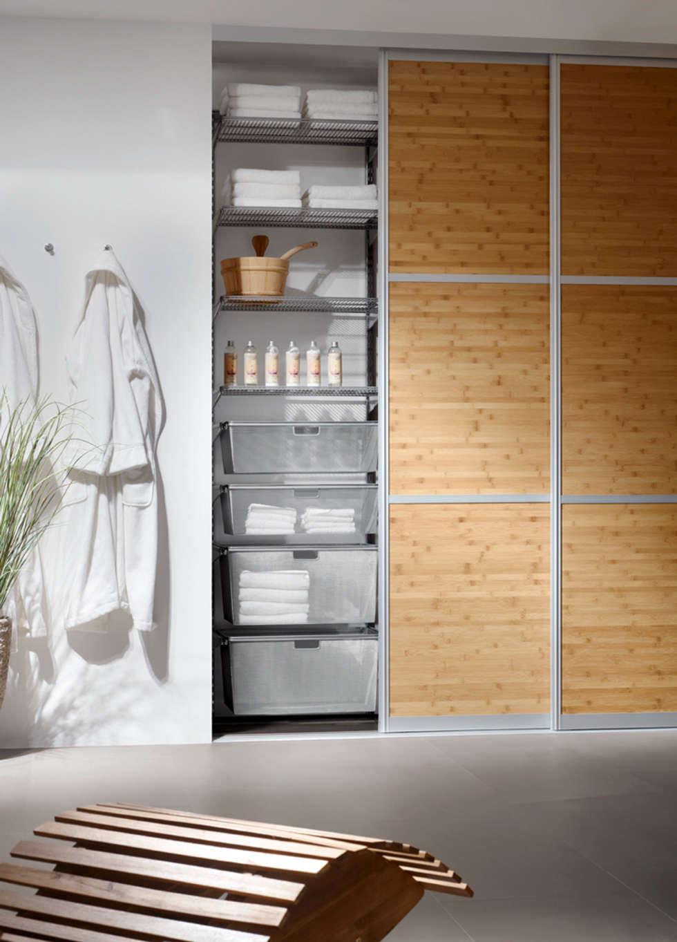 mehr ordnung im bad moderne badezimmer von elfa deutschland gmbh homify. Black Bedroom Furniture Sets. Home Design Ideas