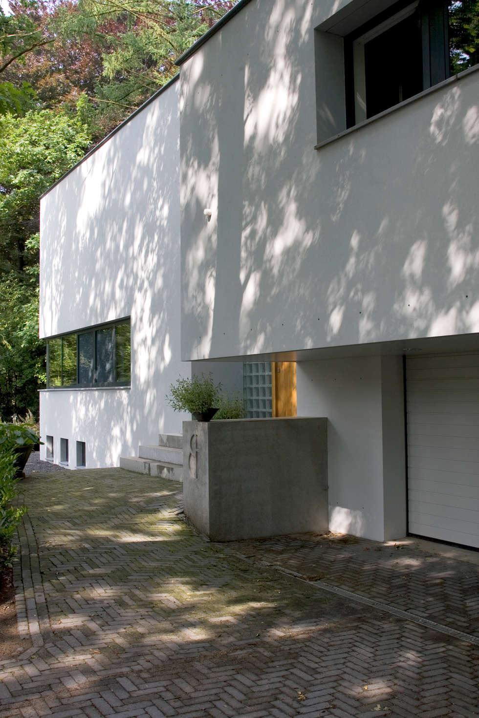Villa Vught: moderne Huizen door Doreth Eijkens | Interieur Architectuur
