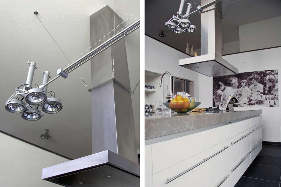 Villa Vught: moderne Keuken door Doreth Eijkens   Interieur Architectuur