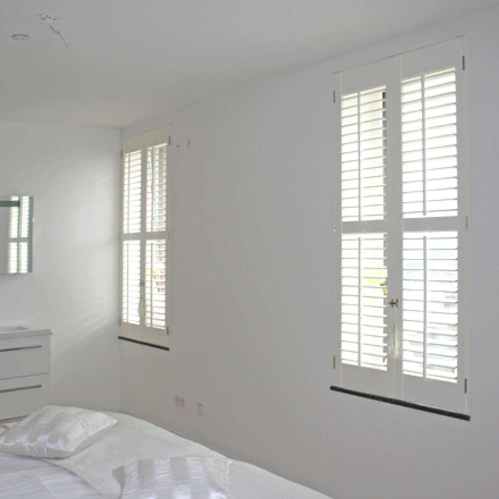 Klassieke Villa, Tilburg: koloniale Slaapkamer door Doreth Eijkens | Interieur Architectuur