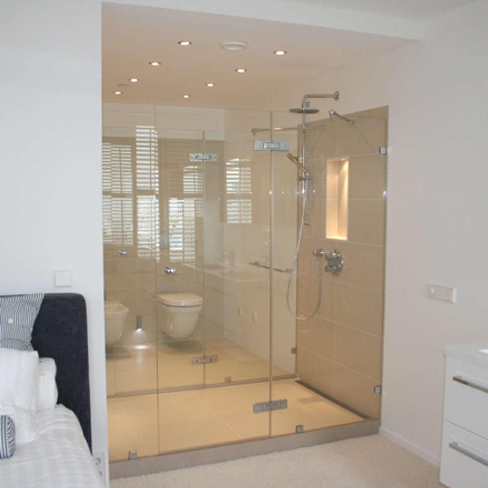 Klassieke Villa, Tilburg: moderne Badkamer door Doreth Eijkens | Interieur Architectuur