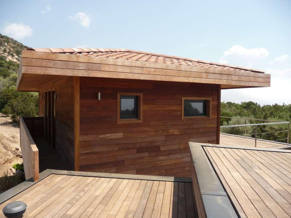 maison Po: Maisons de style de style Moderne par catherine vinciguerra