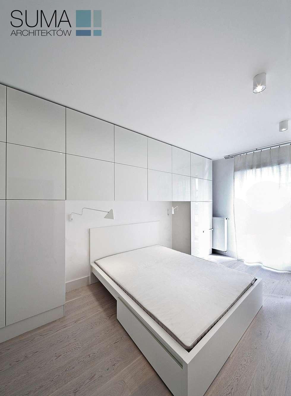 minimalistische Slaapkamer door SUMA Architektów