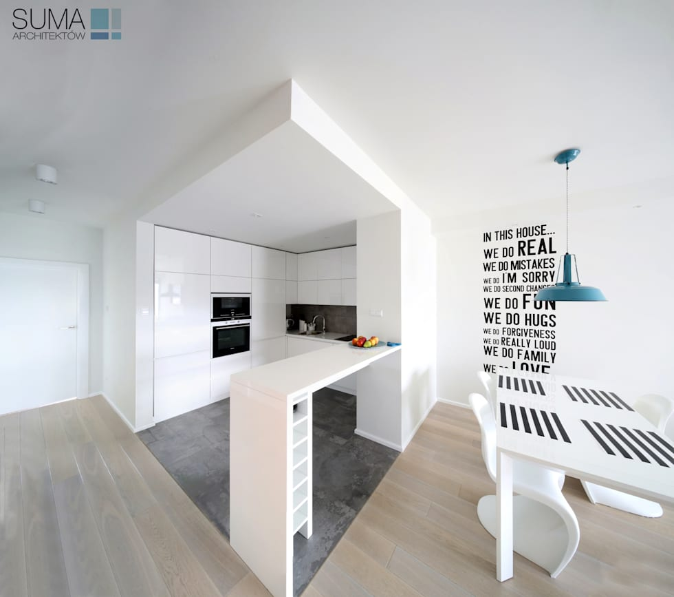 scandinavische Keuken door SUMA Architektów