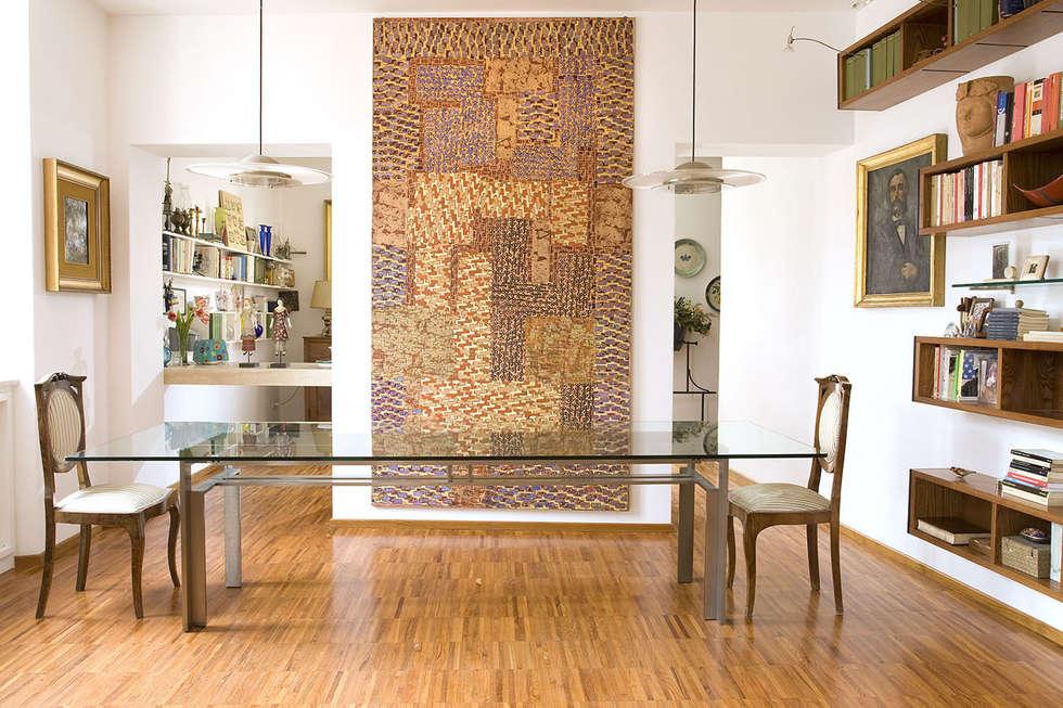 Casa C: Soggiorno in stile in stile Moderno di Giandomenico Florio Architetto
