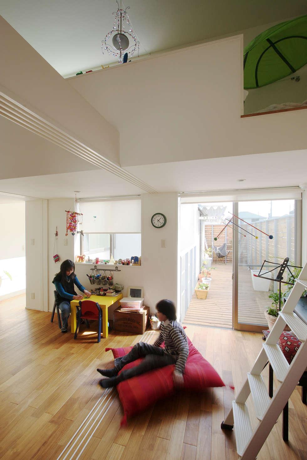 市川の家: 長浜信幸建築設計事務所が手掛けた子供部屋です。