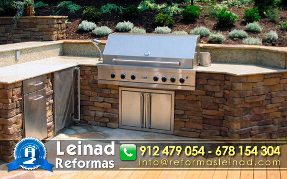Ideas im genes y decoraci n de hogares homify for Country outdoor kitchen ideas