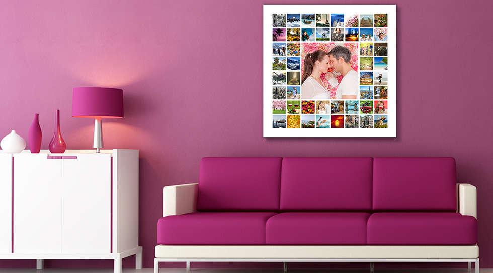 Fotos de decoraci n y dise o de interiores homify - Lienzo sobre bastidor ...