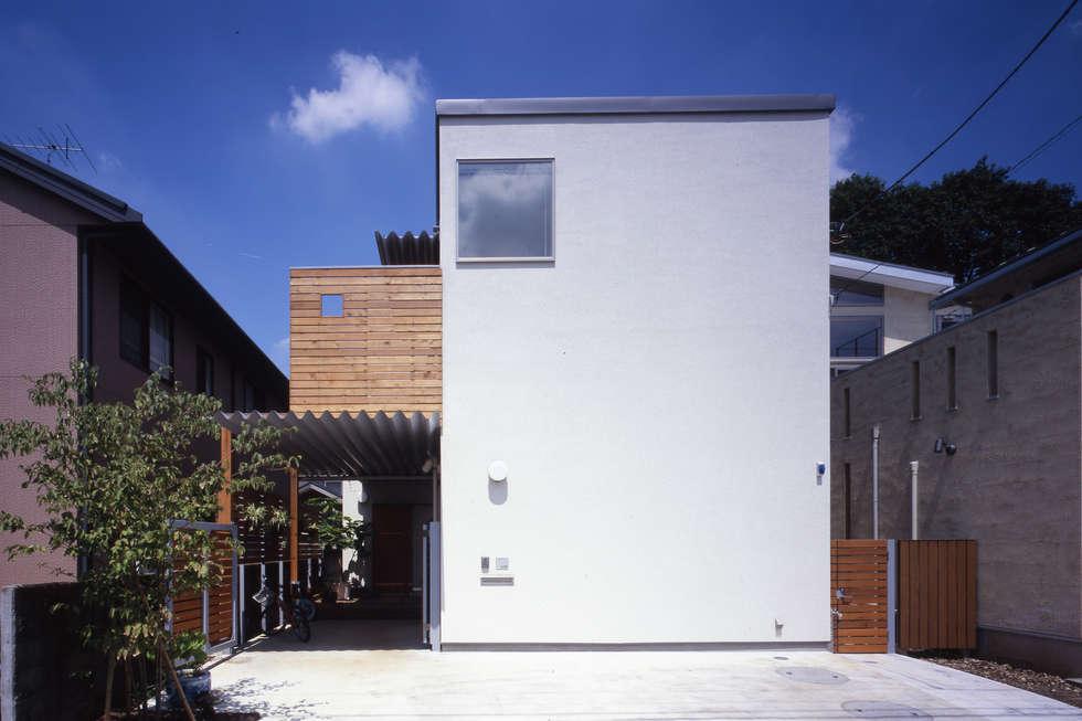 市川の家: 長浜信幸建築設計事務所が手掛けた家です。