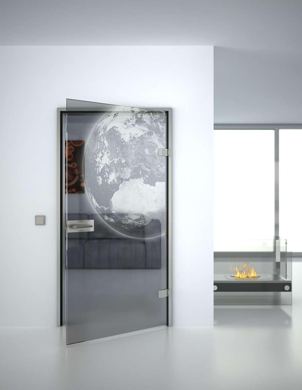Lionidas Design GmbHが手掛けたガラスドア