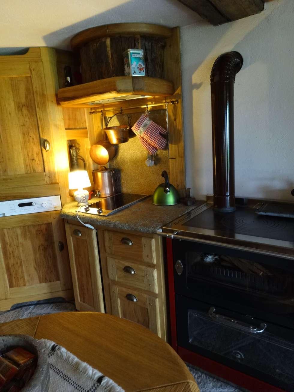 Beautiful cucine per case di montagna photos - Mobili per case di montagna ...