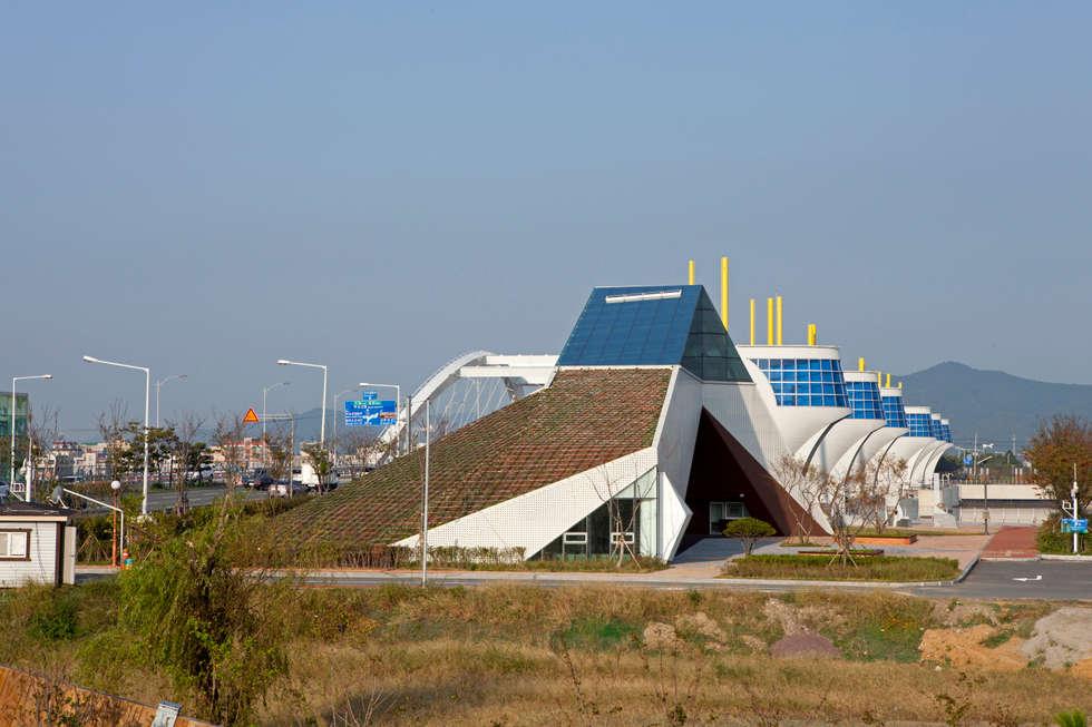 주경: NEOSPACE ARCHITECTS & ENGINEERS의  전시장