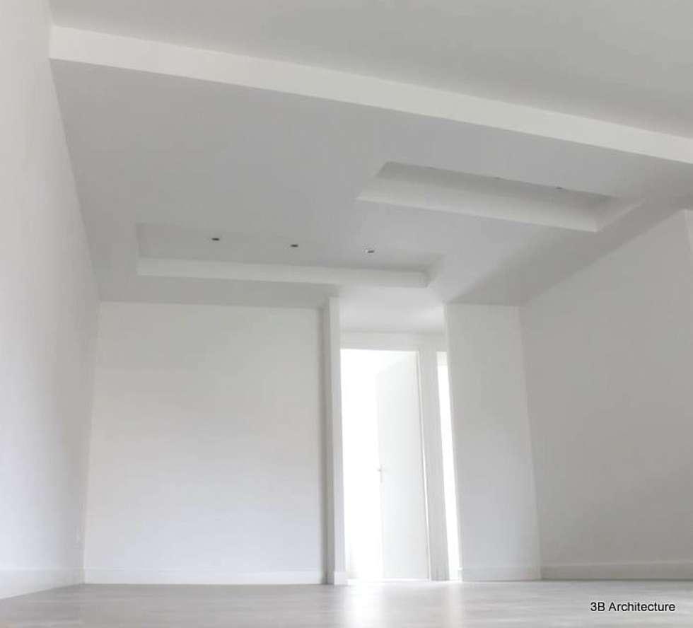 Vue du séjour : Salon de style de style Moderne par 3B Architecture