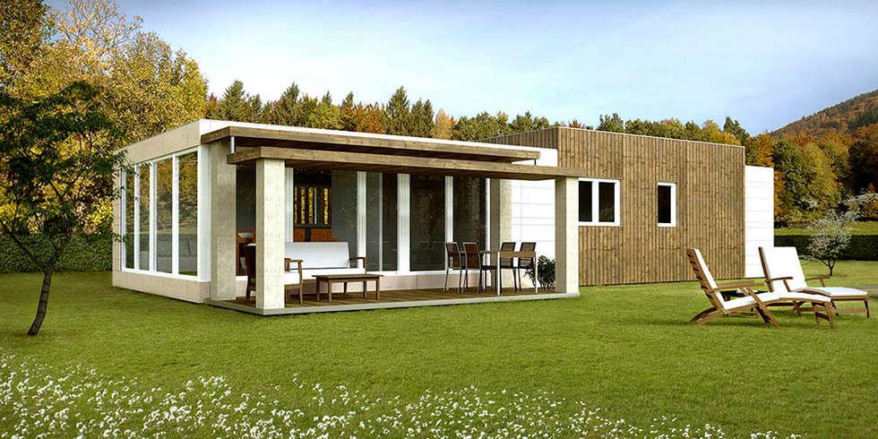moderne Huizen door Casas Cube