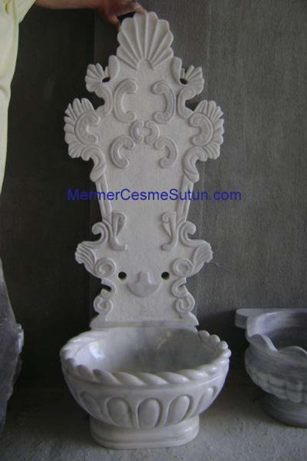 abahanoğlu mermer – spa kurnası: modern tarz Spa