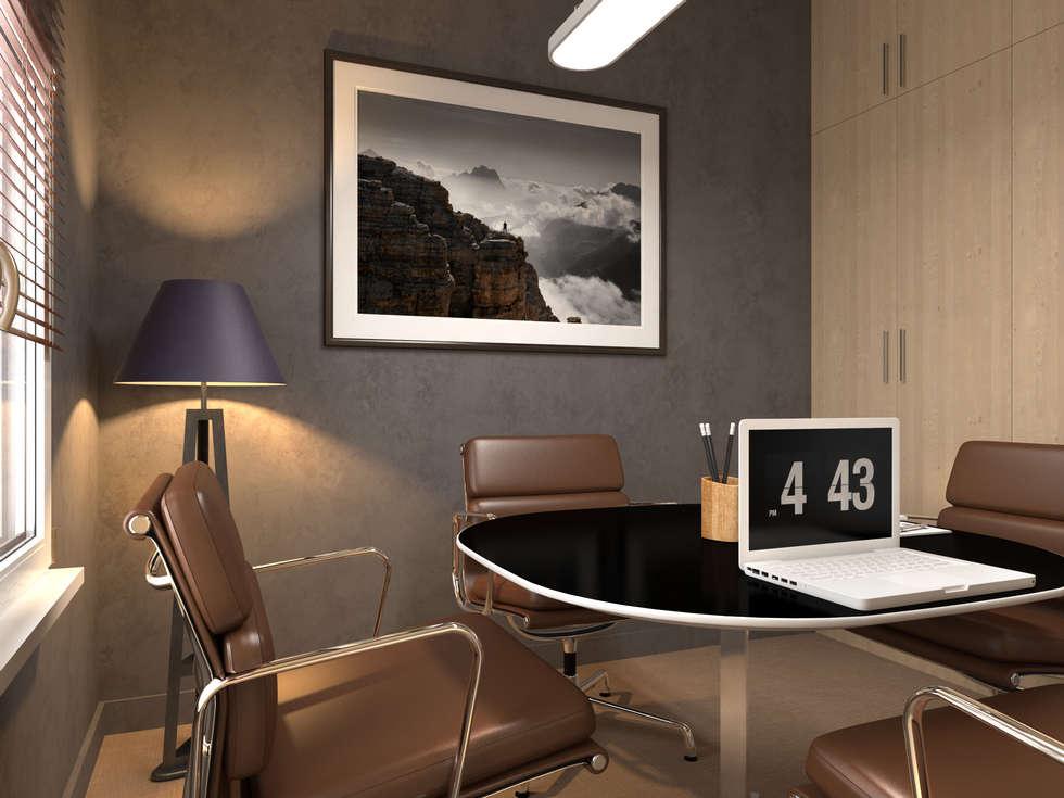 salle de reunion: Bureau de style de style Classique par Agence KP
