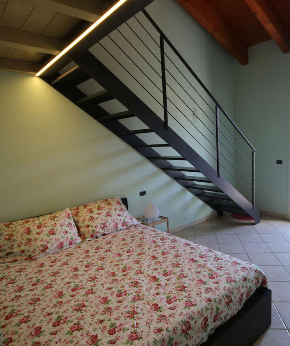 UN TOCCO MINIMAL: Camera da letto in stile in stile Moderno di TOBEHOME INTERIORS
