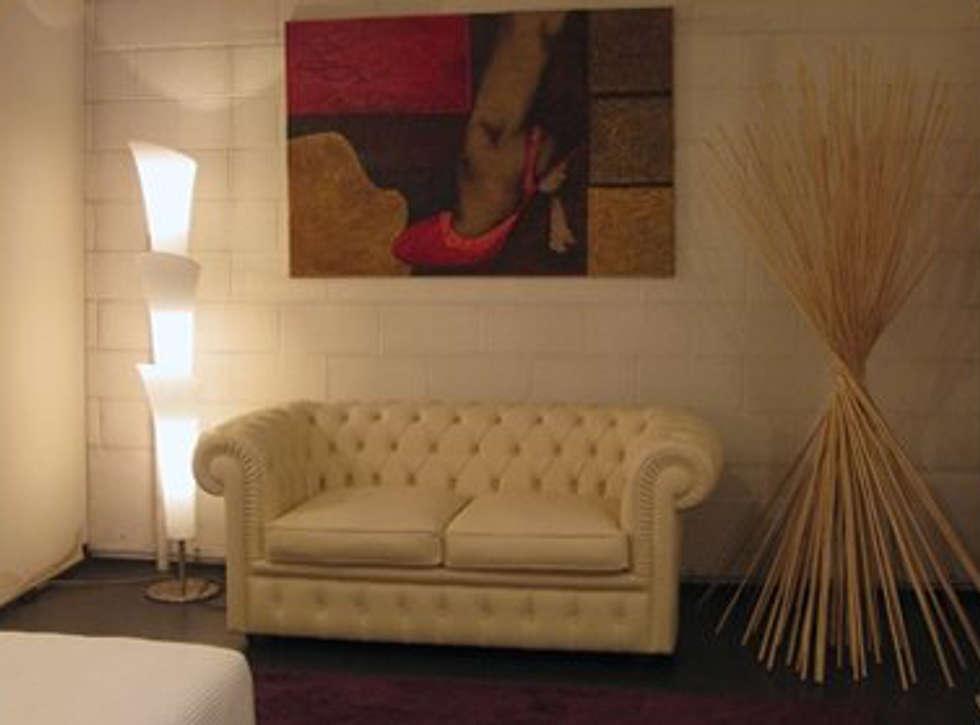 Soggiorno: Ingresso & Corridoio in stile  di STUDIOFLUIDO