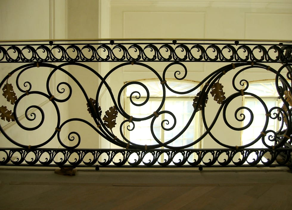Private House: Ingresso & Corridoio in stile  di Villi Zanini - Wrought Iron Art