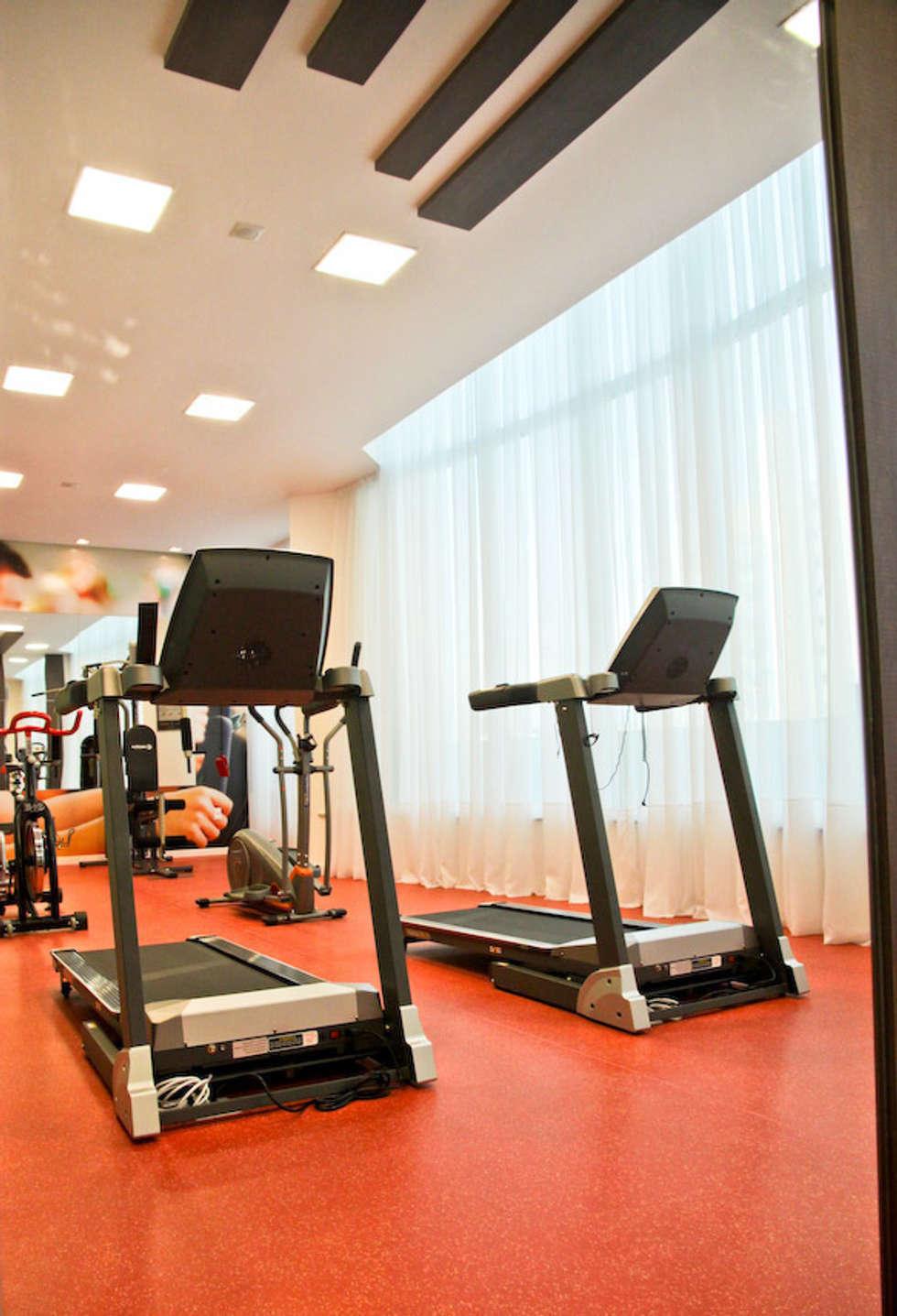 Academia: Fitness  por Daniela Vieira Arquitetura