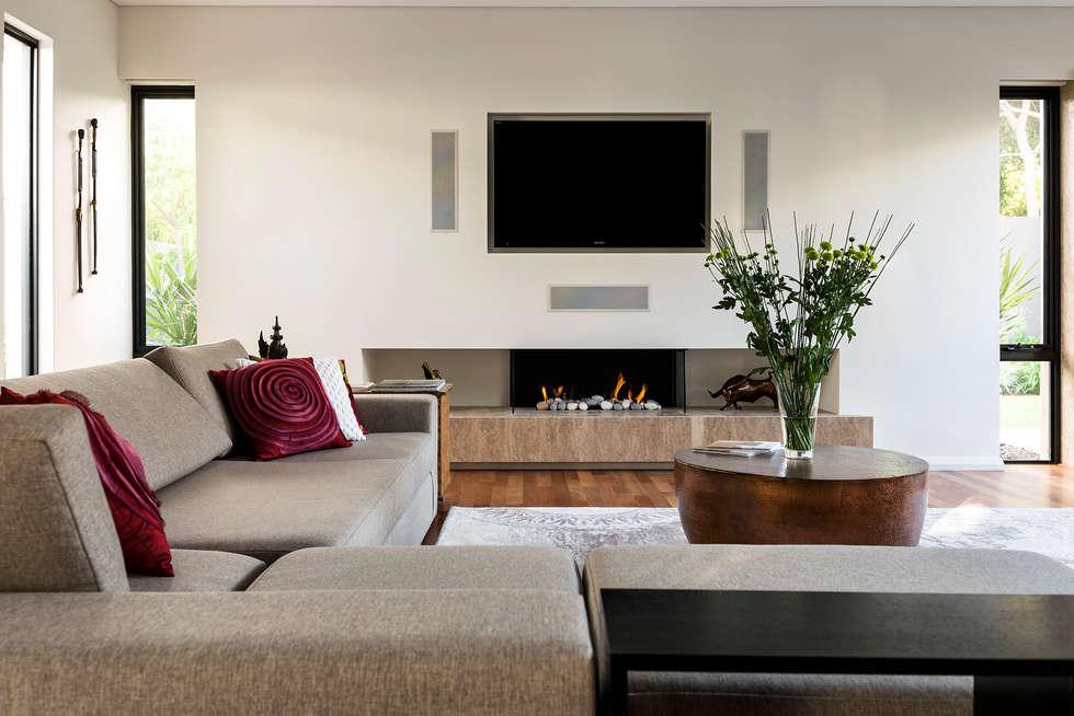 Interior design architecture and renovating pictures homify for Interior design ideas living room australia