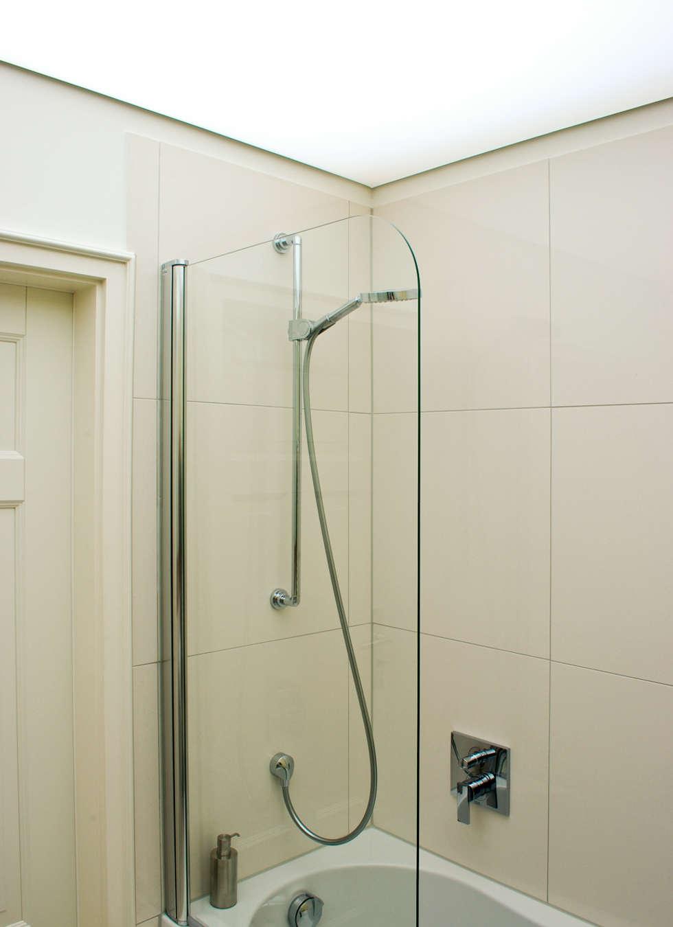 Lichtdecke Und Dusche: Moderne Badezimmer Von Dielen Innenarchitekten Idea