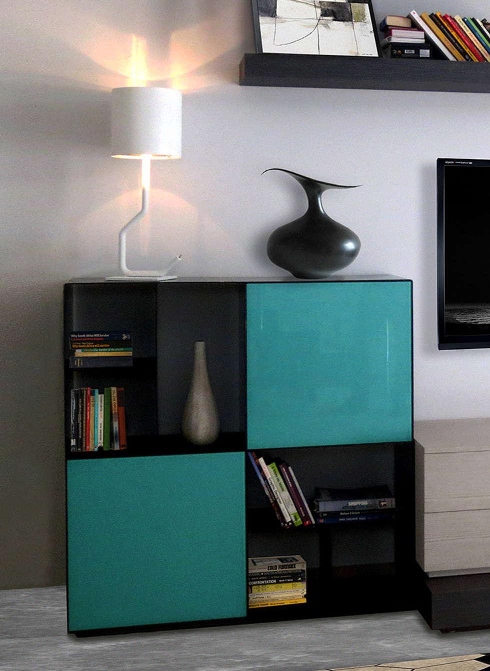 Casa Palmieri -  living: Soggiorno in stile in stile Moderno di Mighali_Faggiano studio